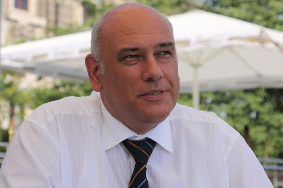"""Thomas Jurk (SPD, 56) hat das Projekt """"Dresdner Fernsehturm"""" erfolgreich durch den Ausschuss gebracht."""