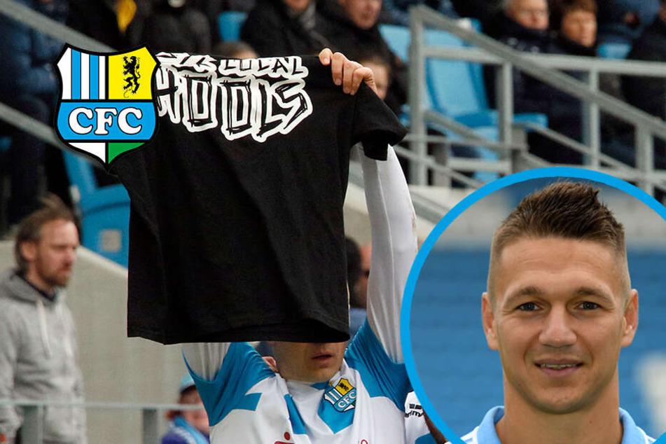Nach Neonazi-Eklat beim CFC: Fußball-Verband sperrt Daniel Frahn!