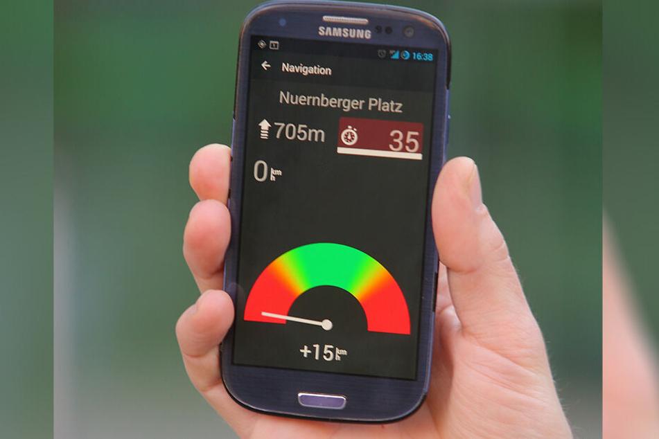 So sah die BikeNow-App in einer früheren Version aus.