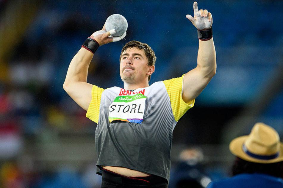 Im kommenden Jahr will David Storl (26) sportlich wieder durchstarten.