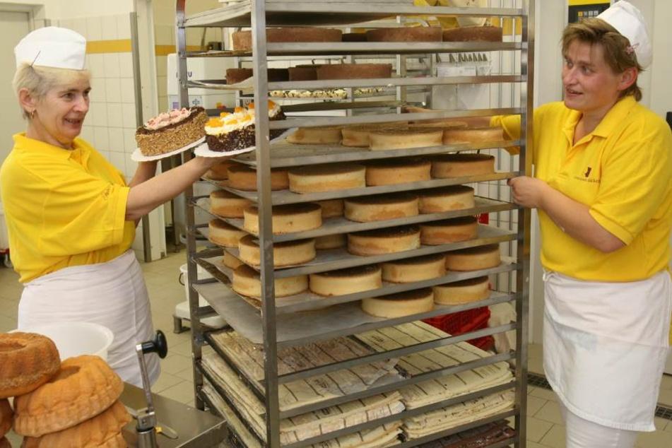 Die Gellertstadt Bäckerei produziert auch Konditoren-Ware.