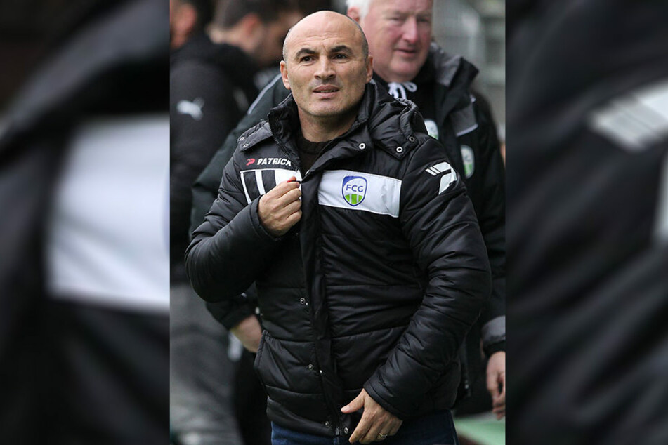 Fatmir Vata ist seit 2016 Trainer des FC Gütersloh.