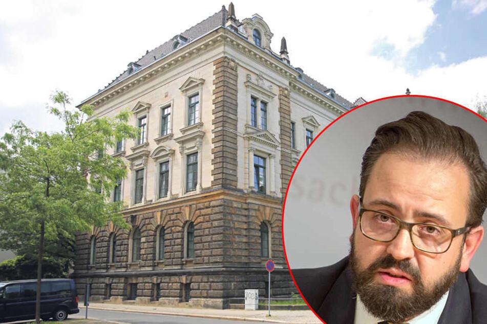 Gift-Alarm! Sachsens Justizministerium verseucht