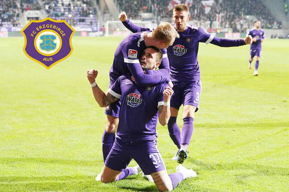 Aue-Wahnsinn! FCE schlägt St. Pauli und springt auf Relegationsplatz