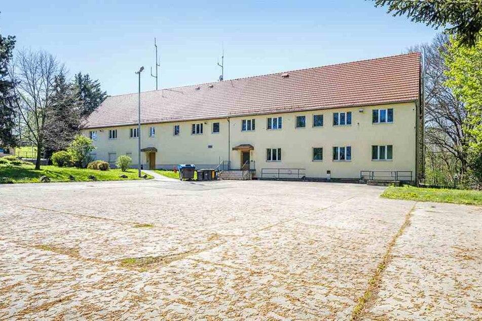 Das ehemalige Gebäude der Autobahnpolizei in Deutschenbora. Hier soll nach TAG24-Infos die neue Fachstelle Wolf einziehen.
