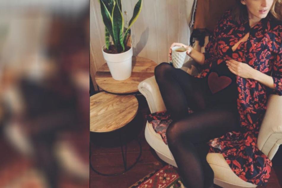 So verrückt hat deutsches Topmodel erfahren, das sie Mutter wird