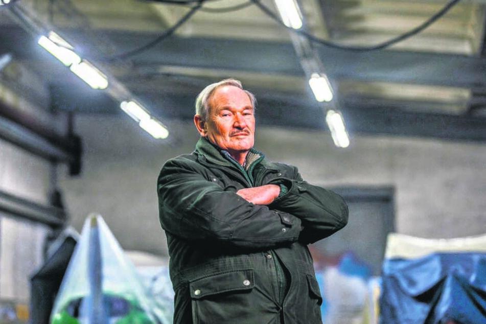 Eisenbahn-Experte Siegfried K. (73) behauptet unschuldig zu sein.