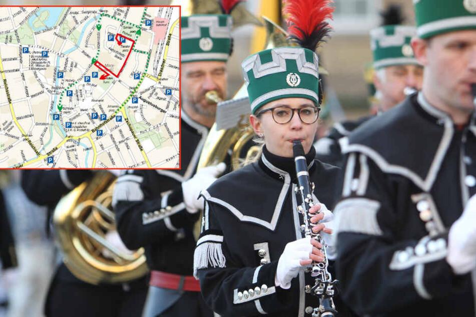 Innenstadt dicht! Sperrungen am Samstag in Chemnitz