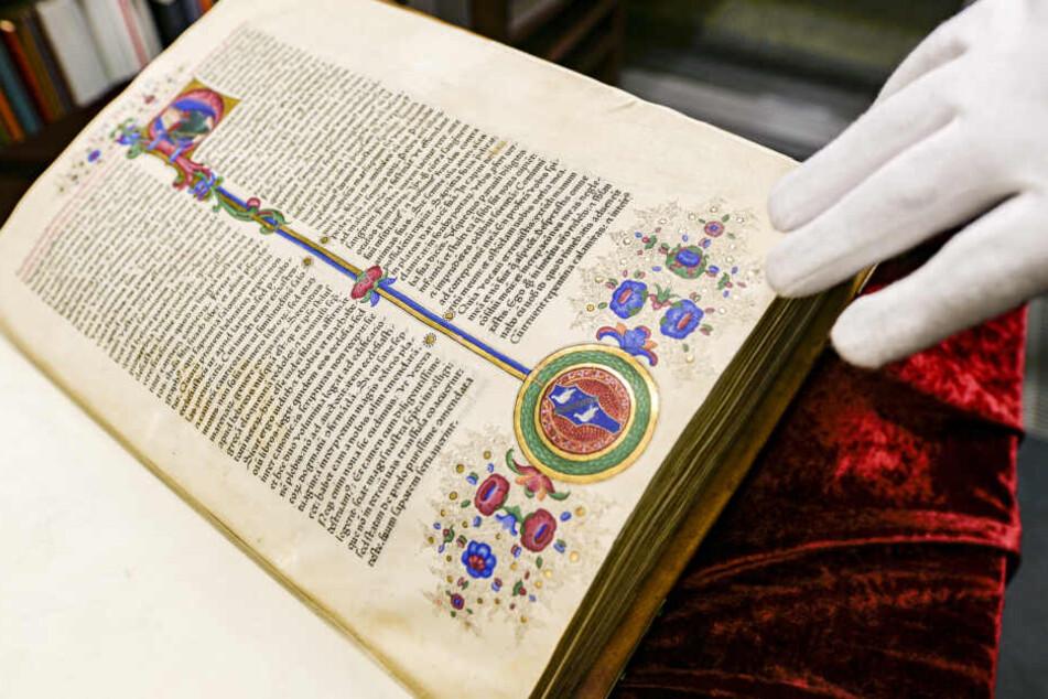 Hamburg: Eine Bibel für eine Million Euro! Deshalb ist dieses Exemplar so besonders