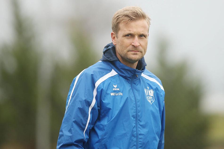 CFC-Trainer David Bergner gab seinen Spielern zwei Tage frei.