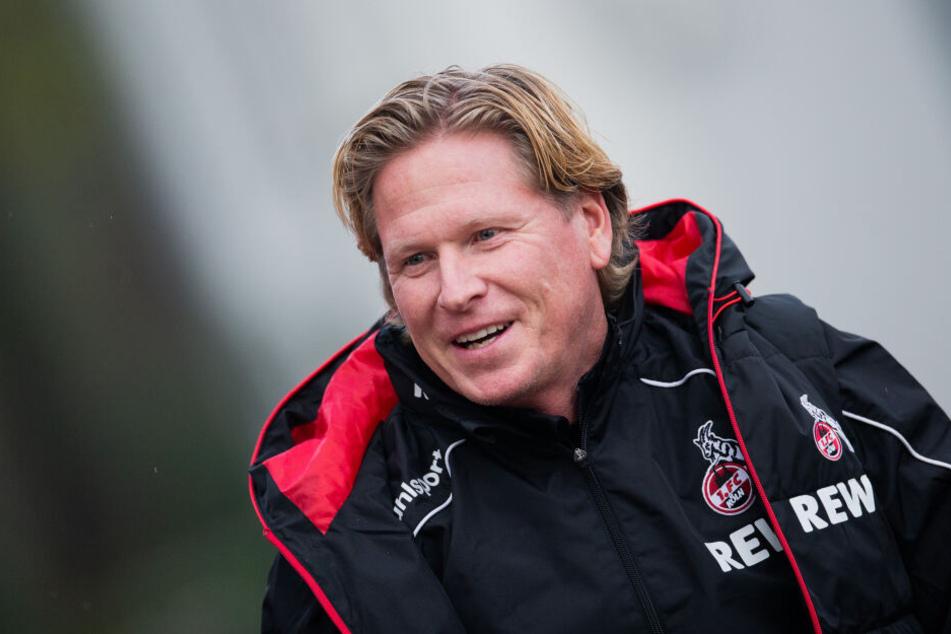 Markus Gisdol (50) steht vor seinem ersten Spiel als Cheftrainer des 1. FC Köln.
