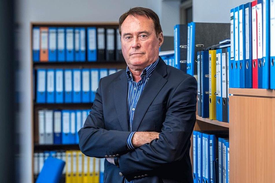 Günther Kahle, Geschäftsführer der Bildungsakademie, will den Streit mit der Stadt notfalls vor Gericht austragen.