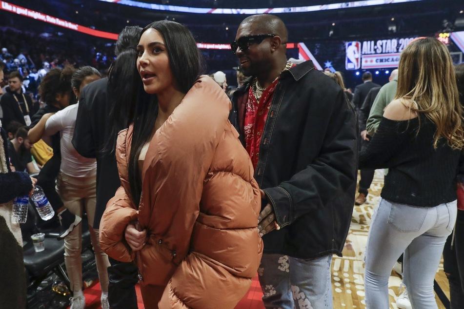 Gemeinsame Auftritte wie hier im Februar 2020 gab es von Kim Kardashian (40) und Kanye West (43) schon länger nicht mehr.