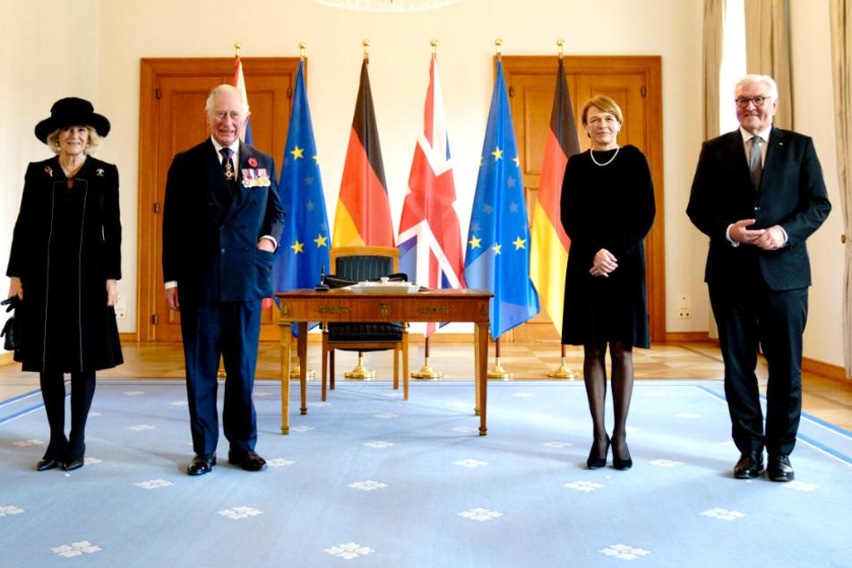 """Steinmeier dankt Prinz Charles für """"außergewöhnliche Geste der Versöhnung"""""""