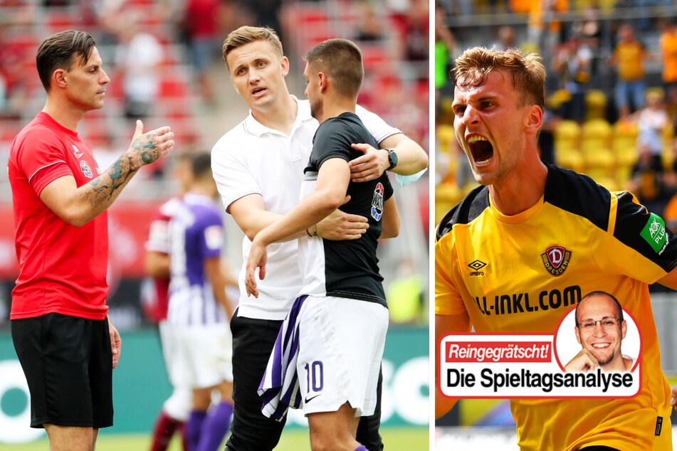 TAG24-Fußballredakteur Stefan Bröhl beschäftigt sich in seiner wöchentlichen Kolumne diesmal unter anderem mit dem guten Saisonstart von Dynamo Dresden und dem FC Erzgebirge Aue.