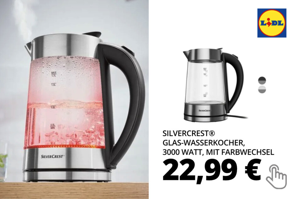 Glas-Wasserkocher