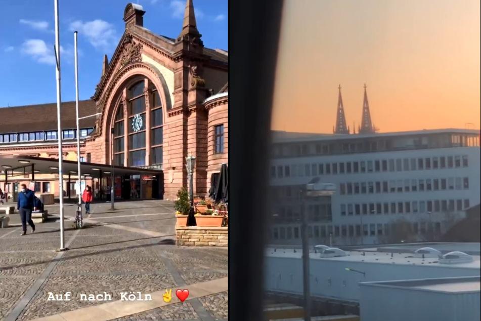Niko Griesert (30) hat seine neue Freundin Michèle de Roos in den vergangenen Wochen immer wieder in Köln besucht. (Fotomontage)
