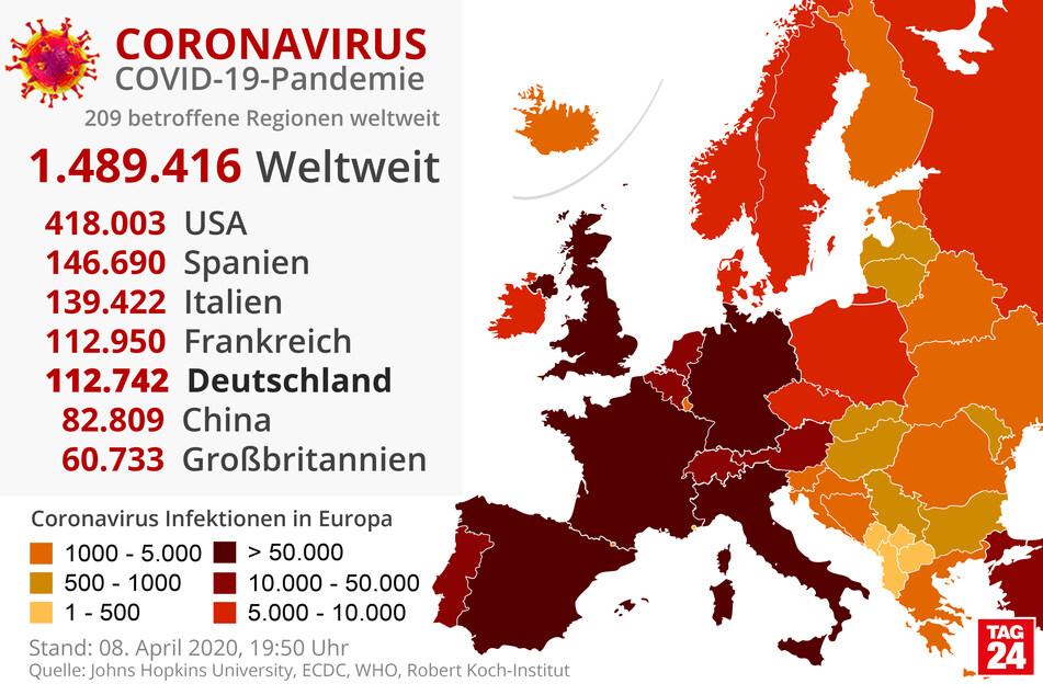 Coronavirus: Höhepunkt der Epidemie in Europa steht noch bevor