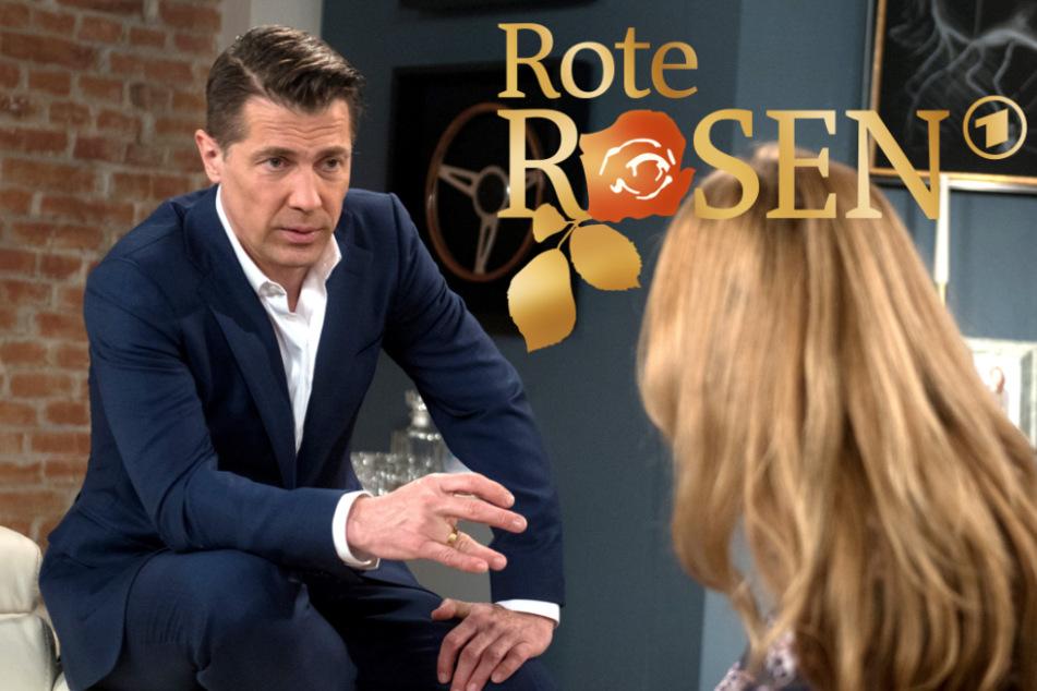 """Krasse Wendung bei """"Rote Rosen"""": Sex-Tape-Erpressung schockt Gregor"""