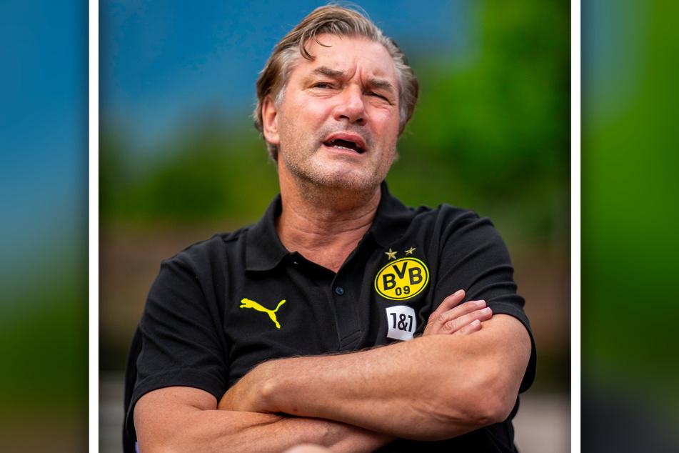 BVB-Sportdirektor Michael Zorc (58) im Trainingslager in Bad Ragaz (Schweiz).
