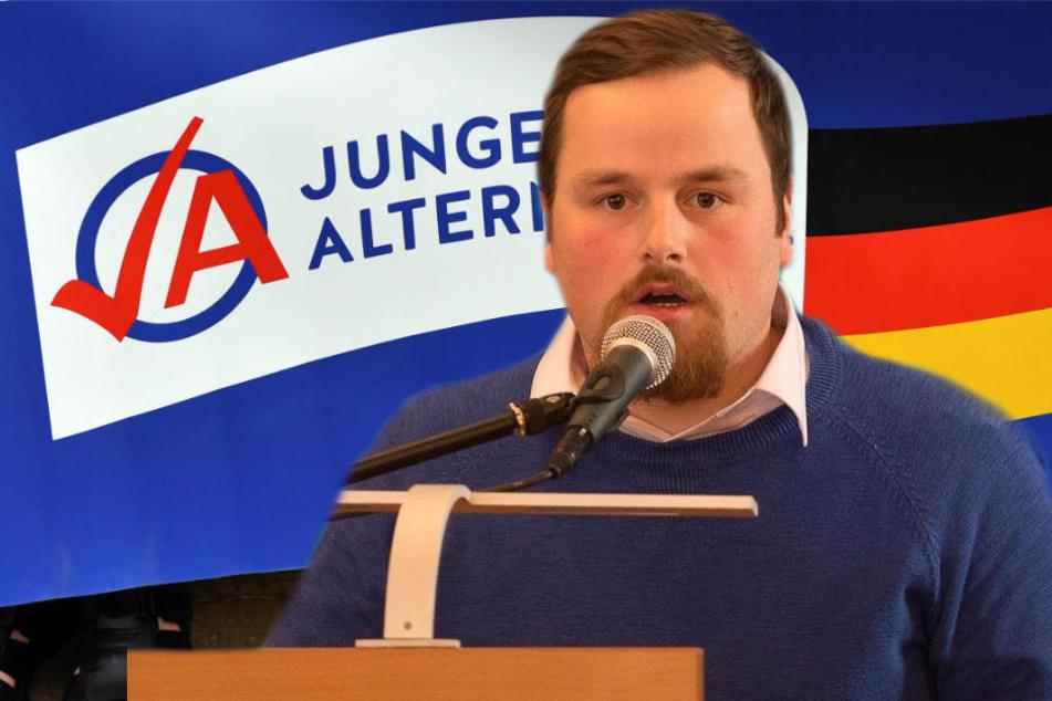 Der Landeschef der Jungen Alternativen Sachsen, Matthias Scholz (28), ist nach einer eskalierten Kneipentour von allen Ämtern zurückgetreten.