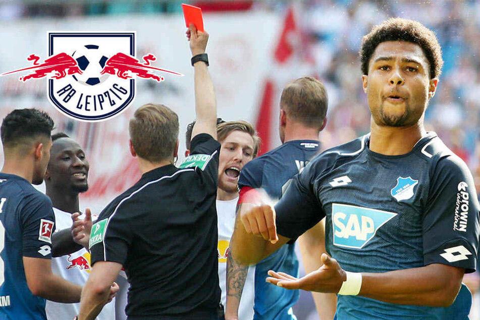 5 Gegentore und Frust-Rot: RB Leipzig geht gegen Hoffenheim unter