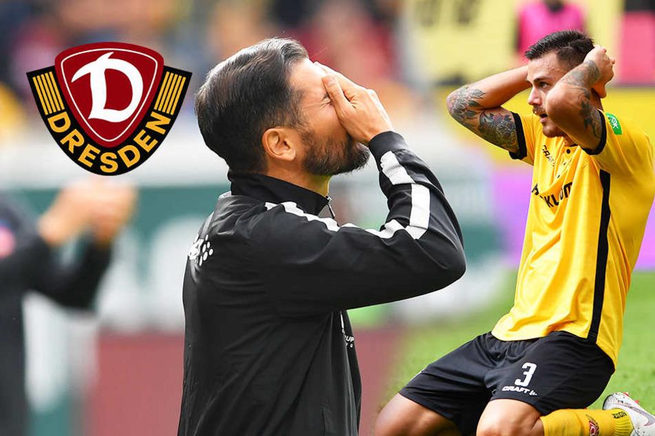 Bitteres Fiel-Debüt bei Dynamo: Torklau und 1:3-Pleite gegen Heidenheim