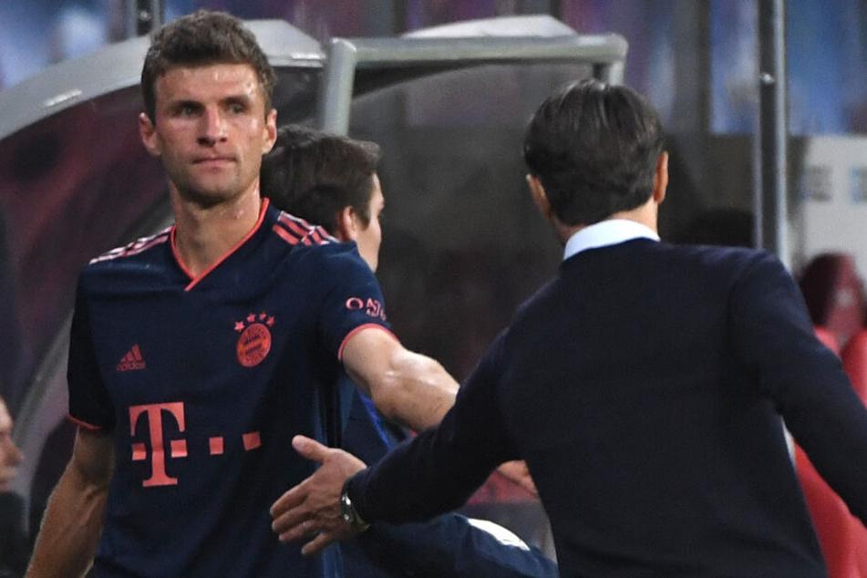 Ob und wann Thomas Müller wieder in die Startelf kommt, ließ Niko Kovac offen.