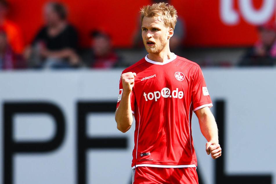 Konnte in der Abstiegssaison des 1. FC Kaiserslautern zwölf eigene Tore bejubeln: Sebastian Andersson.