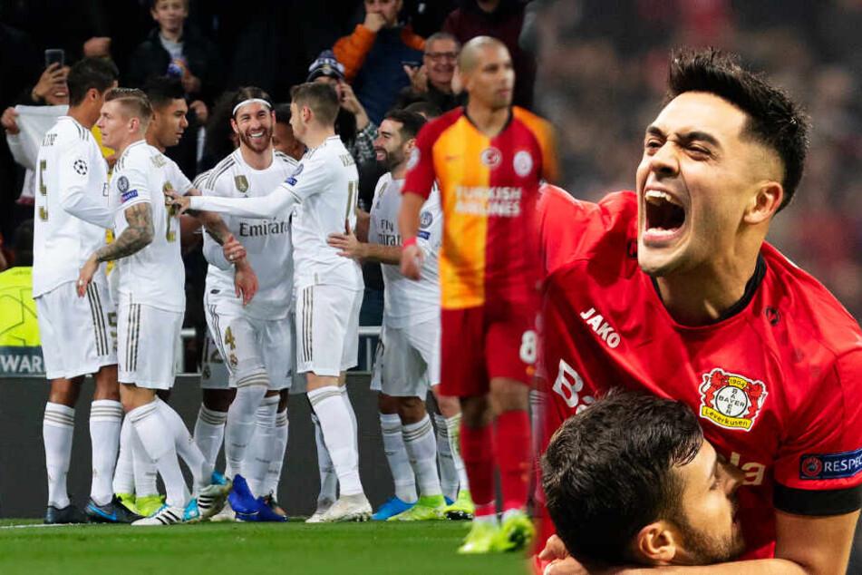Bayer Leverkusen holt endlich den ersten Dreier! Real fegt Galatasaray aus dem Stadion