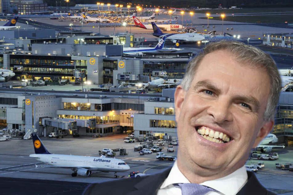 Carsten Spohr findet den Frankfurter Flughafen zu teuer. (Symbolbild)