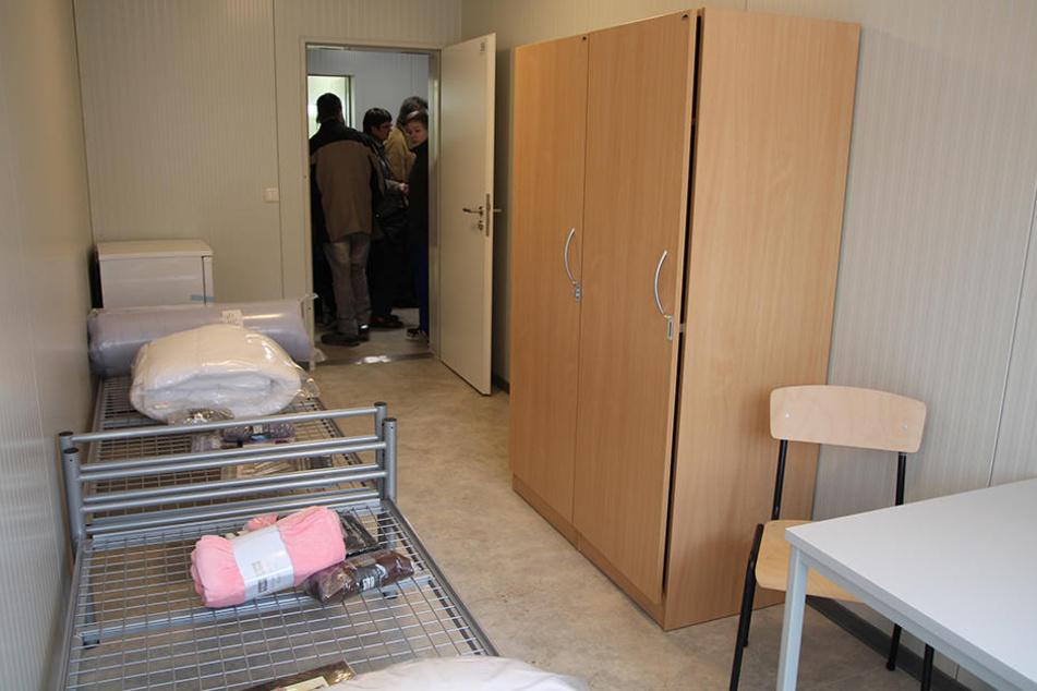 Für ein solches Zimmer müssen Asylbewerber 30 Euro pro Nacht bezahlen.