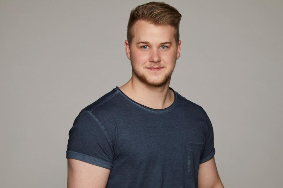 Felix van Deventer (23) hatte einen schweren Unfall.