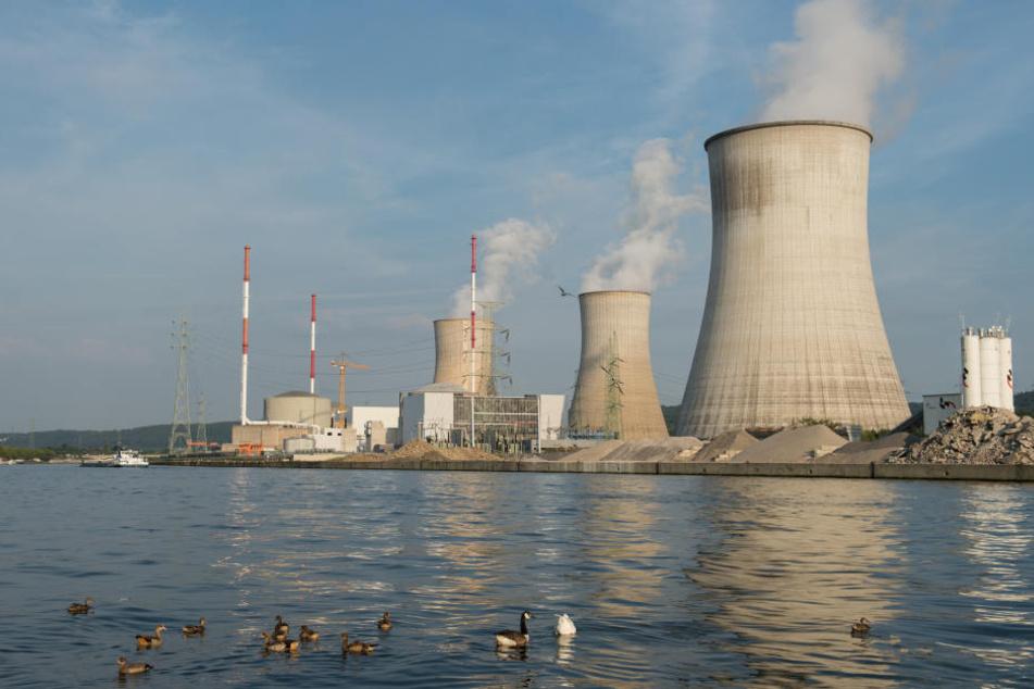 Das Kernkraftwerk in Tihange in Belgien ist nur 70 Kilometer von Aachen entfernt.