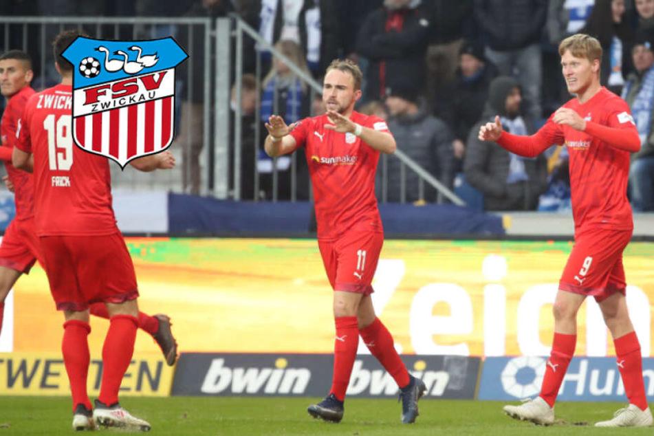 Viteritti & Wegkamp drehen das Spiel und beenden Zwickauer Auswärtsfluch