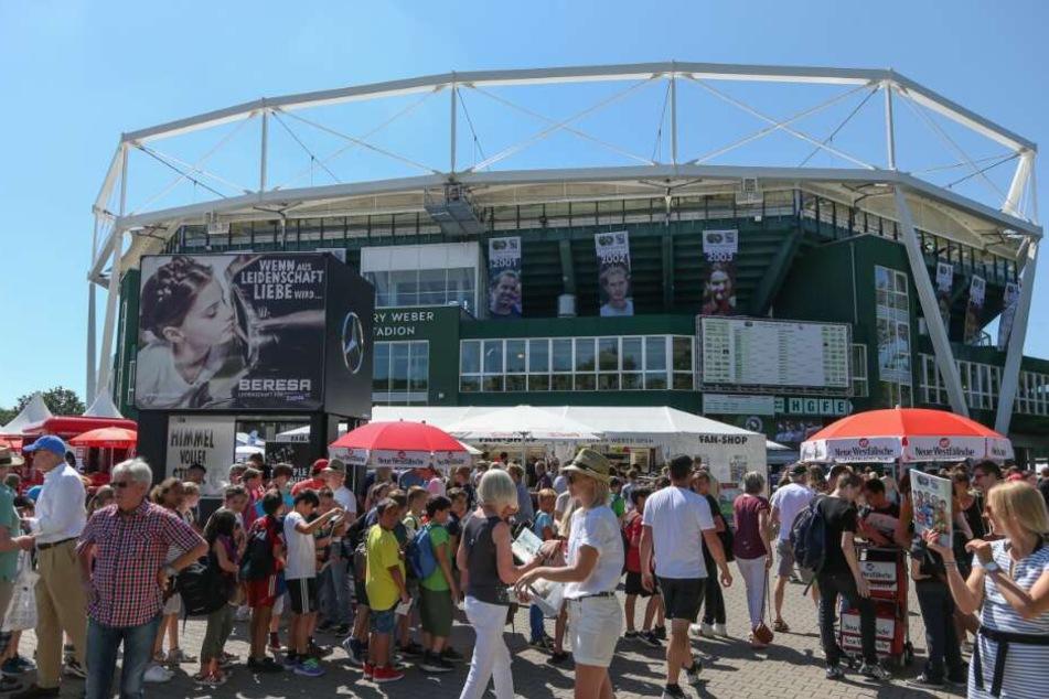Die Gerry Weber Open locken jedes Jahr zahlreiche Zuschauer nach Halle.