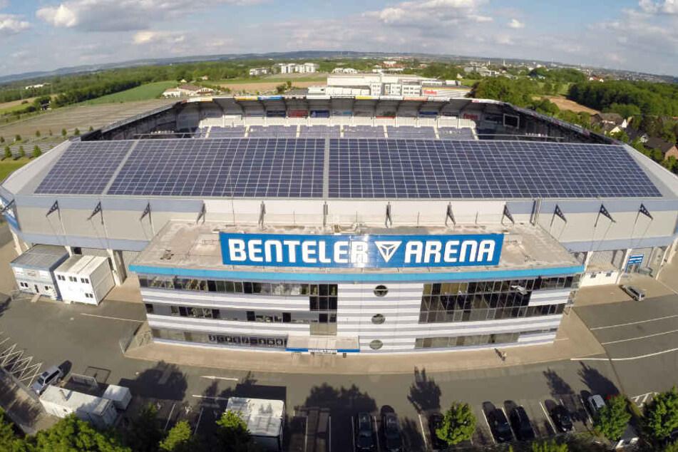 In der heimischen Benteler-Arena findet das Pokalspiel statt.
