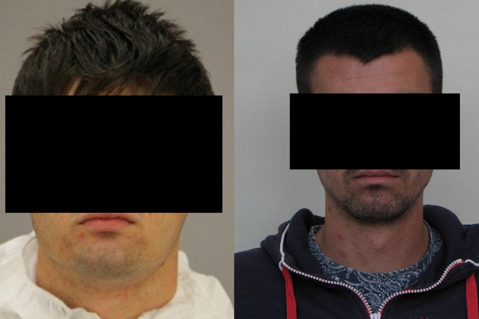 Sebastian G. (22) und Ardian G. (23) waren noch etwas länger auf der Flucht, als der 19-Jährige Ausbrecher.