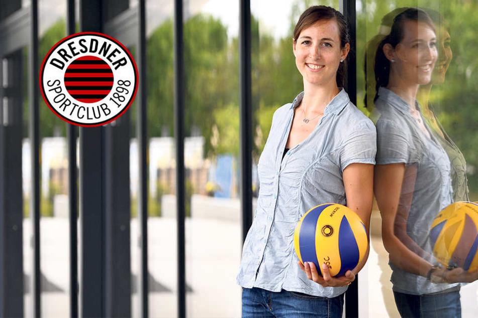 DSC-Neuzugang Lena will in Dresden wieder Spaß am Volleyball haben
