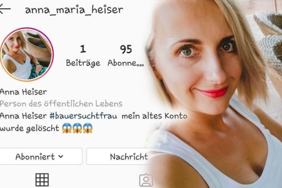 """Schock für """"Bauer sucht Frau""""-Star Anna Heiser: Instagram-Konto gehackt!"""