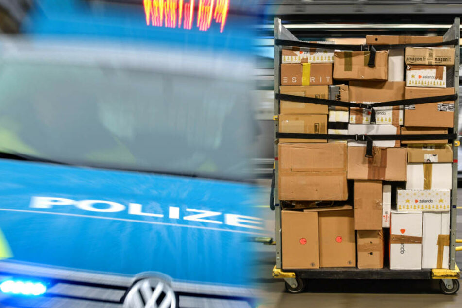 Frau öffnet Päckchen in Paketshop, dann muss die Polizei anrücken