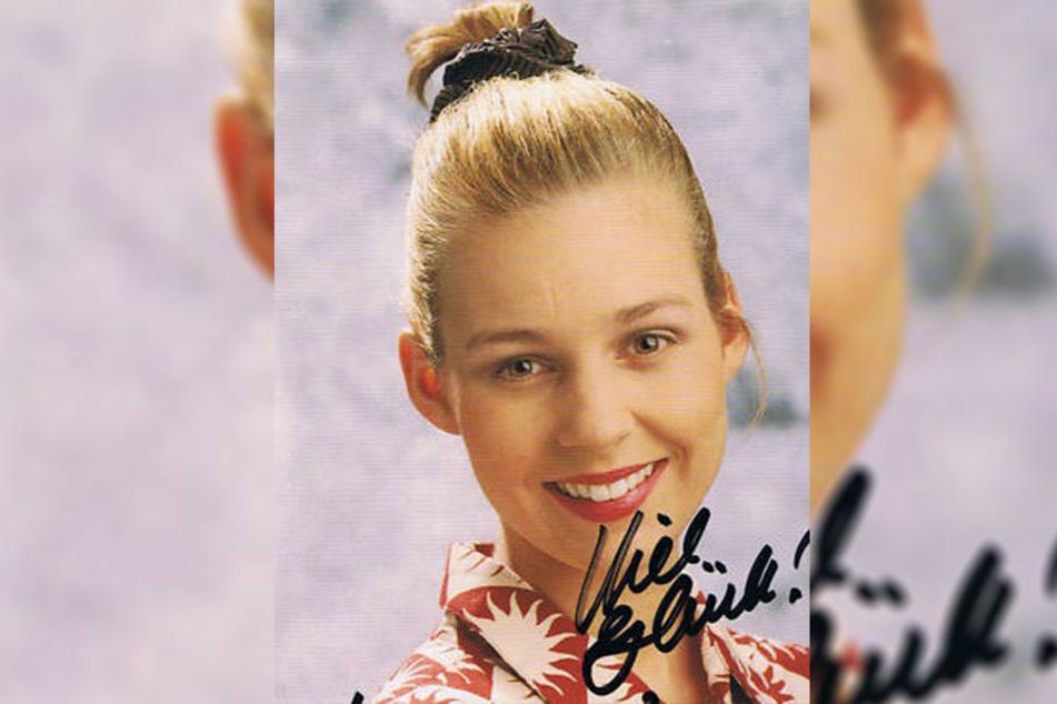 Die GZSZ-Autogrammkarte von Mirjam Köfer (43). Die Tochter von Schauspiellegende Herbert Köfer spielte bis November 1993 mit.