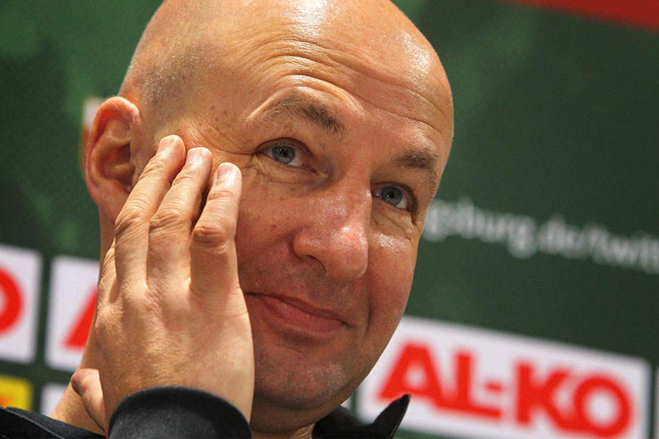 Wenn es nach FCA-Präsident Klaus Hofmann (50) ginge, würde RB Leipzig nicht in der Bundesliga spielen.