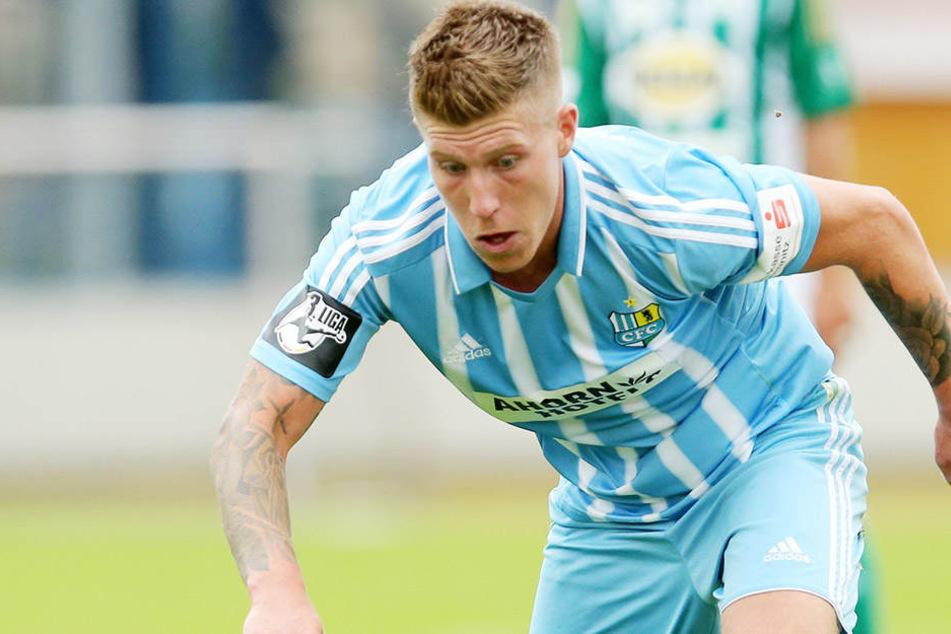 Philip Türpitz (25) hofft auf einen Sieg gegen den SV Wehen Wiesbaden.