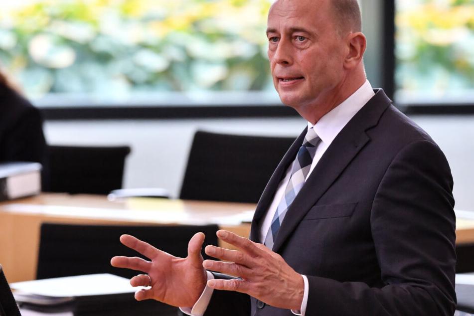 Thüringens SPD-Chef Wolfgang Tiefensee will sich für den sozialen Wohnungsbau einsetzen.