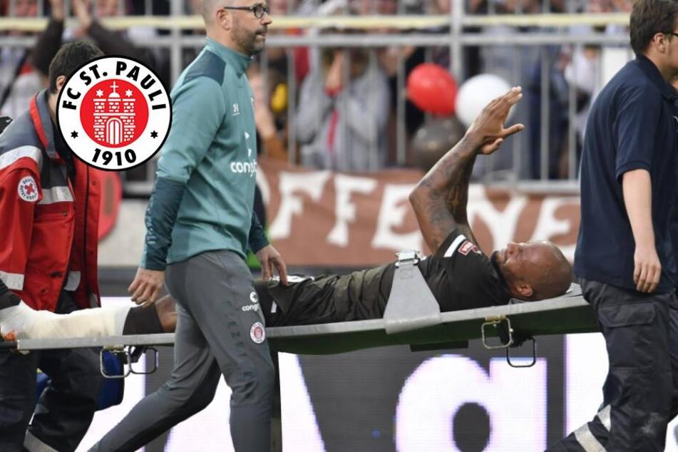 Schock bei St. Pauli! Kapitän Avevor verletzt sich beim Heim-Auftakt schwer