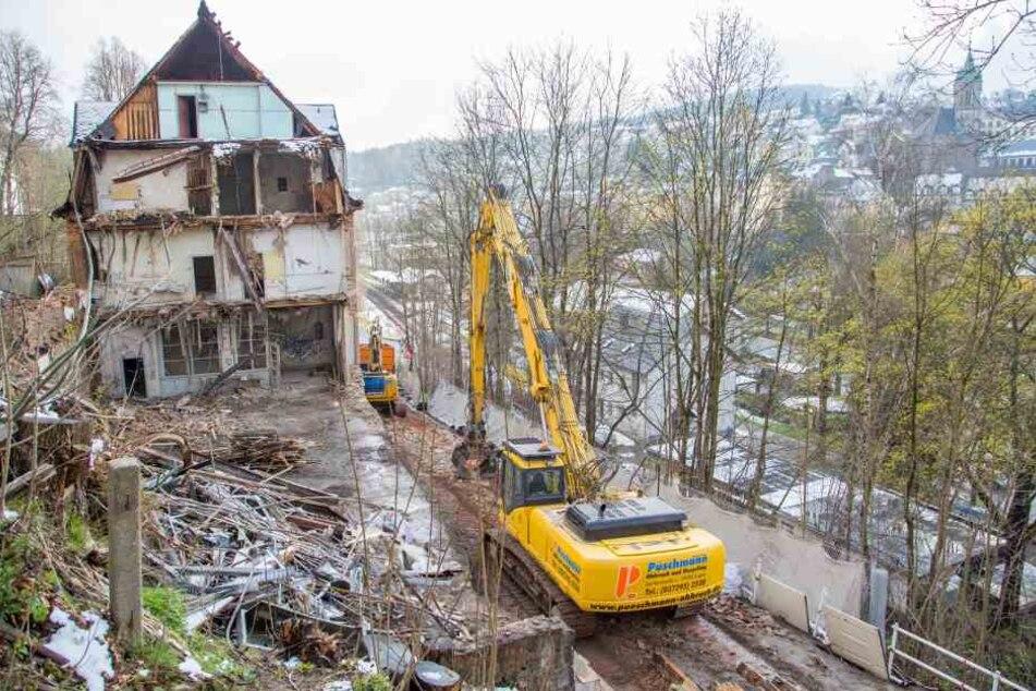 Die Bauarbeiten werden bis Ende September andauern.