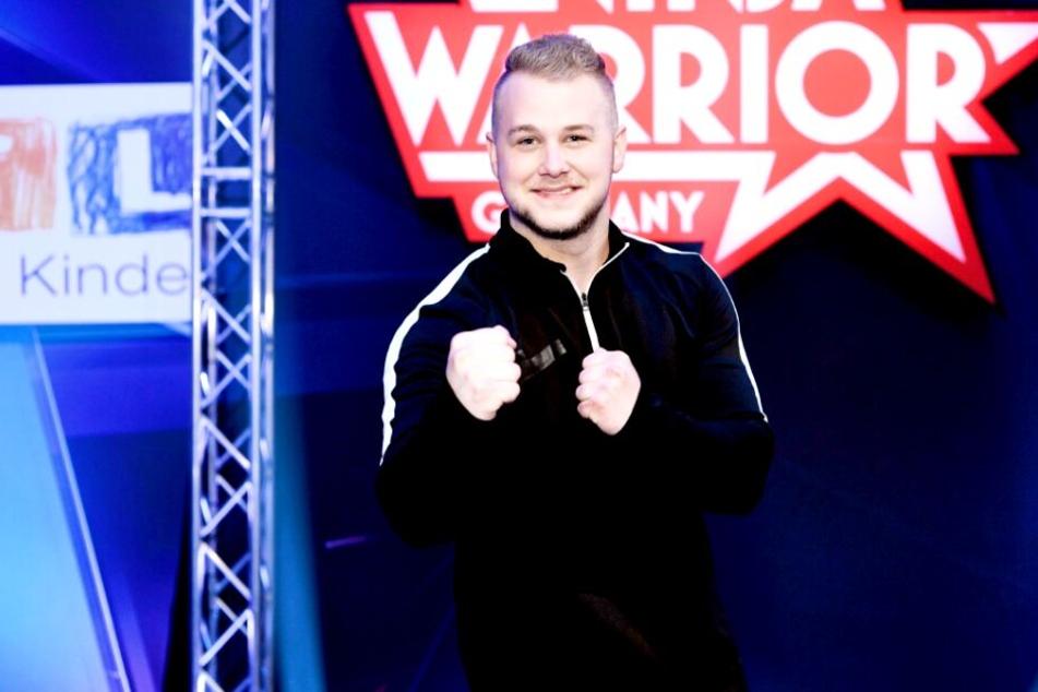 "Felix van Deventer (23) kämpft am Freitagabend bei ""Ninja Warrior"" um Spenden."