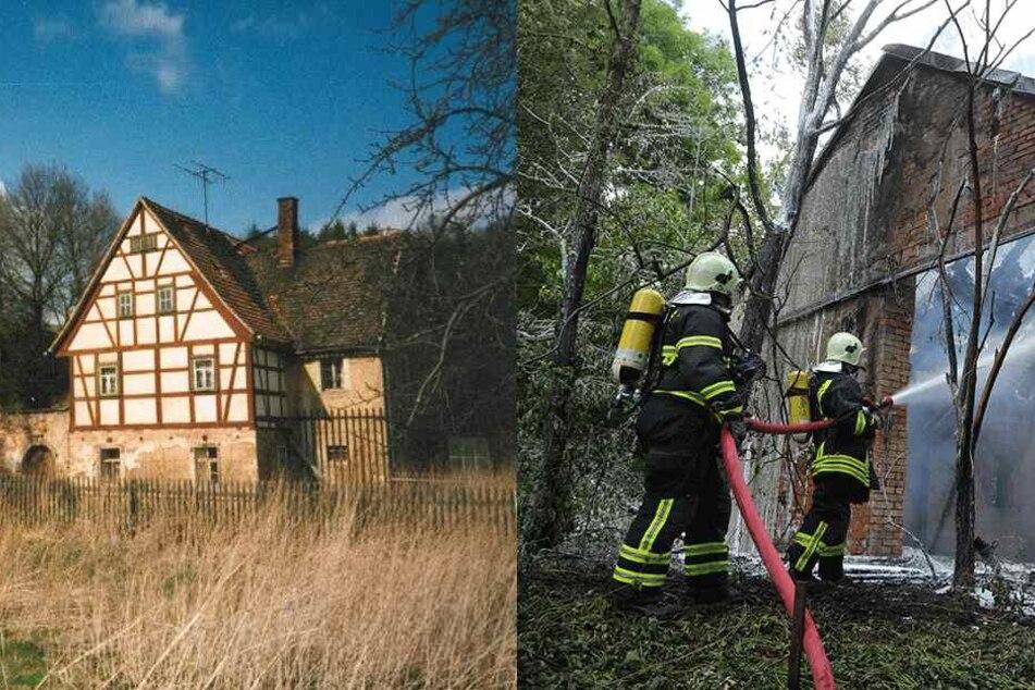 Historisches Monument: Wer hat die Hauswaldmühle angezündet?