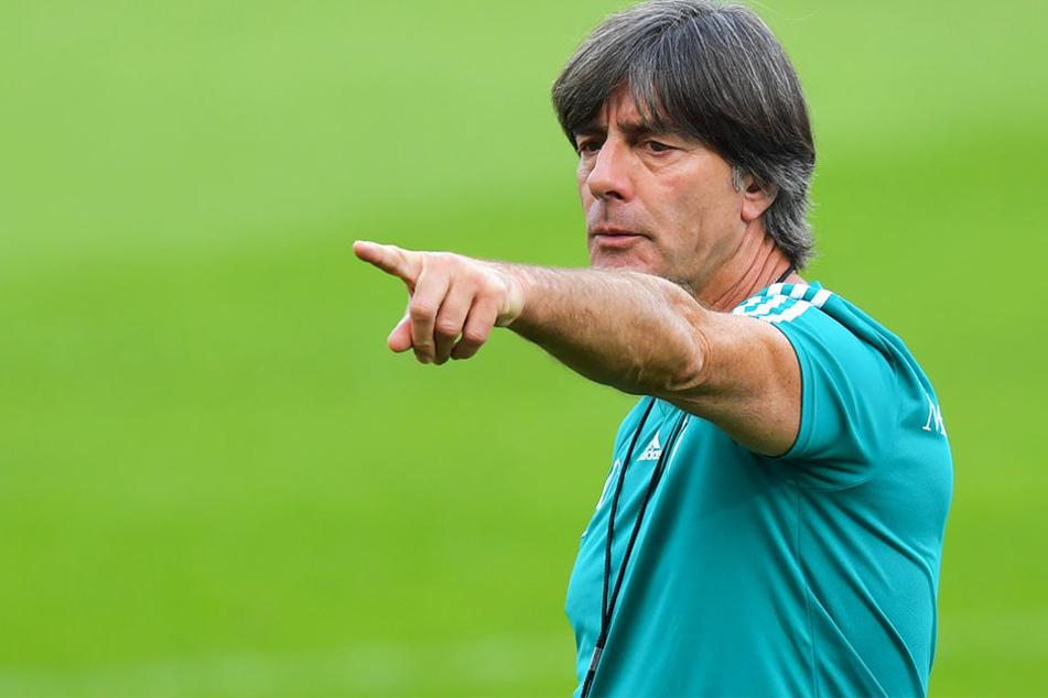 Sorgt mit seiner Uth-Nominierung für Verwunderung: Bundestrainer Joachim Löw.